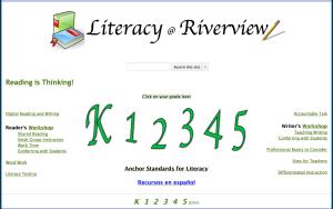 Literacy @ Riverview