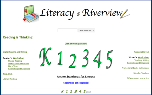 Literacy @ Riverview